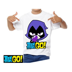 Playera Teen Titans Go Cartoon Titanes Jovenes Titanes