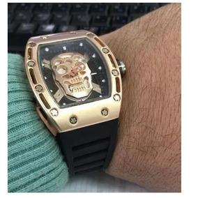 182fe4e3964 Relogio Preto Richard Mille - Relógios De Pulso no Mercado Livre Brasil