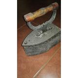 Plancha Antigua. De Carbón. En Su Estado Original. 100 Años