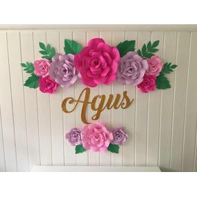 Flores Gigantes Papel Arte Y Artesanias En Mercado Libre Argentina