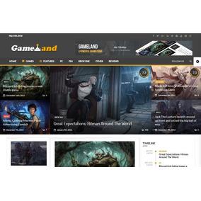 New Gamer V2.2 - Premium Script Wordpress Para Adsense