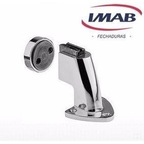 Kit 8 Prendedores Magnéticos (piso/parede) Cromado - Imab