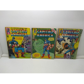 Capitão América - Lote Nº 15 Ao 48 - Ed. Abril 1979 - Hq