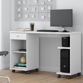 Mesa Computador Million - Branco - Patrimar Móveis