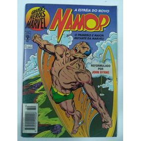 Grandes Heróis Marvel 42 A Estréia Do Novo Namor