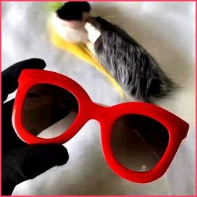 5e05b6c261067 Oculos Celine Inspiration Vermelho - Óculos no Mercado Livre Brasil