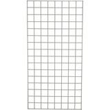 Nexel Wire Panel De Cuadrícula, Gray Epoxy Finalizar, 18 W