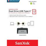 Pendrive Sandisk Dual Drive 128 Gb Type-c Usb Pc Mac Iphone