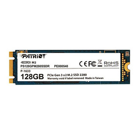 Hd Ssd M.2 M2 Pcie 2x Patriot 128gb 2280 Nvme