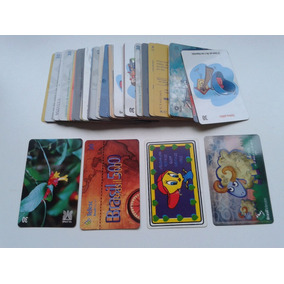 Coleção De Cartões Telefônicos (telepar,telemar,celesc, Etc)