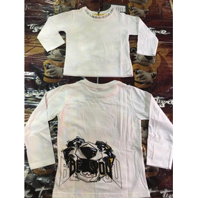 Camiseta Manga Longa Tigor T Tigre Branca 08ab8af37dee7