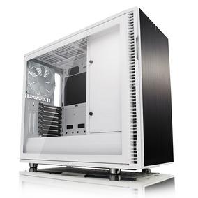 Gabinete Gamer Fractal Design Define R6 Blanco Mid Tower Atx