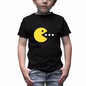 Pacman Playera Infantil -envío Gratis-