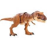 Jurassic World Thrash N Throw Tyrannosaurus Rex Figure