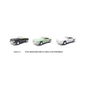 Miniatura Colecionável Kit Com 3 Mercedes Benz 190sl 1:34
