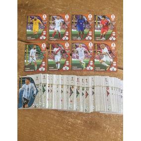 Lote 105 Base Cards+24 Fans Favorite Russia2018 Adrenalyn Xl