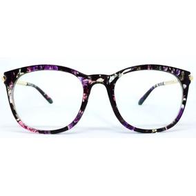 Armação De Acetato Para Óculos De Grau Vintage + Brinde 485a8f7932