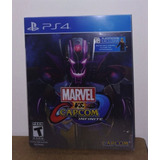 Marvel Vs Capcom Infinite Deluxe Steelbook Ps4
