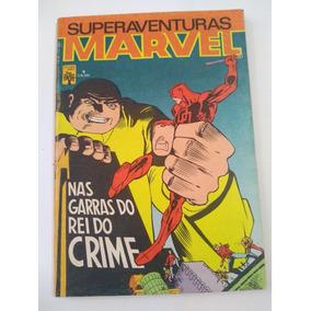 Superaventuras Marvel Nº 9 - 1983 - Ed. Abril - Rara !