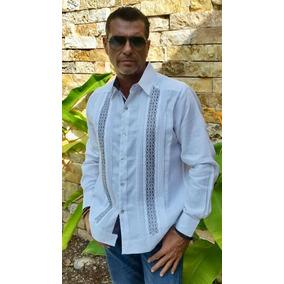 Camisa Guayabera Yucateca Casual 100% Lino _cfktkt2122
