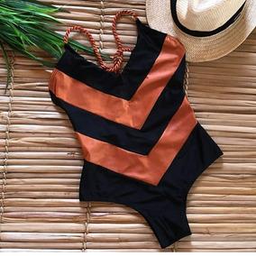 Maiô De Detalhes Morena Praiana Beach Wear