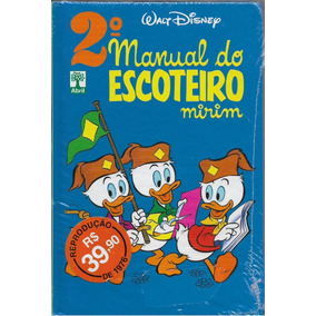 2° Manual Do Escoteiro Mirim Disney, Walt (capa Dura)