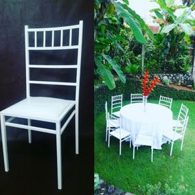 Kit 10 Cadeiras Tiffany Quadrada Empilháveis Para Buffet