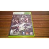Injustice Xbox 360