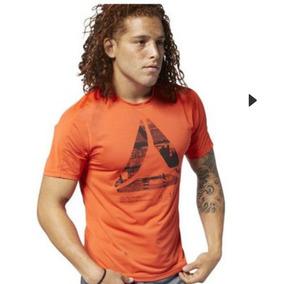 Camiseta Reebok Original Nueva Talla M Anaranjada bf24dbe6531e3
