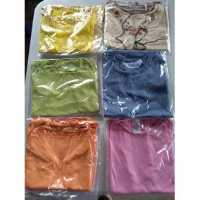 Camisa, Blusa, Camiseta Dama Algodón Poliester Por Docena