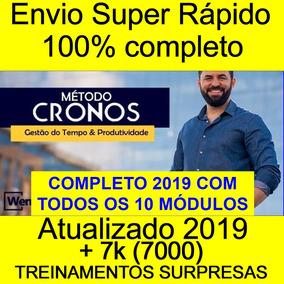 Método Cronos 2019 Wendell Carvalho 10 Modulos +brindes