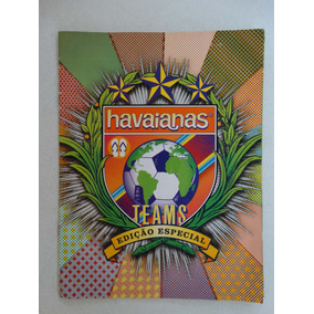 Album Havaianas Teams! Completo! 2010!