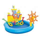 Pileta Inflable Barco Pelotero Play Center Bestway 52211