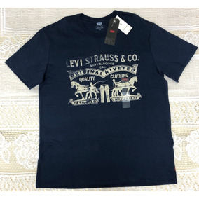 Camisetas Levis Original - Camisetas Manga Curta no Mercado Livre Brasil 9d505be3679