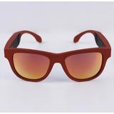 Earphone Headphone Condução Ossea Modelo Oculos Vermelho 38ec1b2e5f