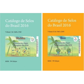 Catálogo Selos Brasil Rhm Pdf 2016 Filatelia Digital