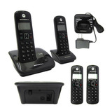Teléfono Digital Inalámbrico Motorola Auri2020-2 - Negro