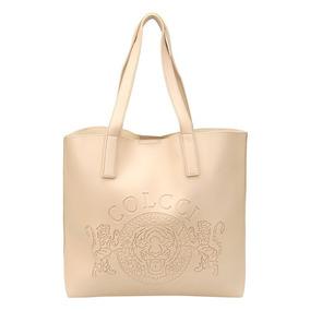 Bolsa Colcci Shopper Brasão Feminina