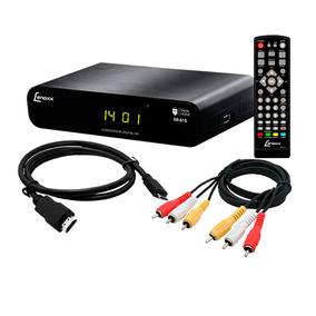 Conversor Tv Digital Lenoxx Sb-615 Isdb-t Usb Gravador Hdmi