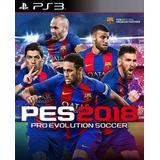 Pro Evolution Soccer 2018 Digital Latino Ps3