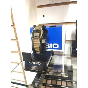 Reloj Casio Dorado Para Dama