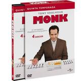 Box - Monk - 5ª Temporada Completa (4 Discos) Tony Shalhoub
