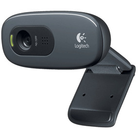 Webcam Logitech C270 Hd 720p 3mp Original Lacrada E C/ Nf