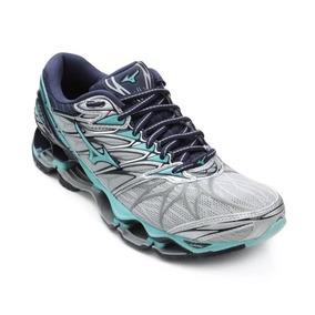 ca1057571e Tenis Mizuno Wave Vitality 2 Azul Bebe Prophecy - Calçados