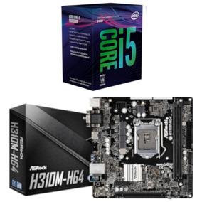 Kit Combo Processador Intel I5 8400 + Placa Asrock H310m Hg4