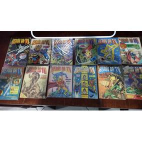 Herois Da Tv - Pacote Com 78 Ediçoes 4, 7 E 9 No Pacote