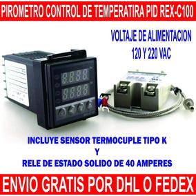 Pirometro Control De Temperatura Pid D