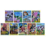 Libro Para Colorear 8 Páginas Figuras Infantil, Diverti Toys