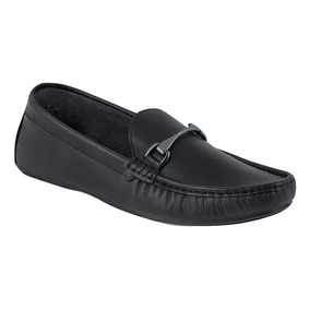 a9941afc11426 Zapatos Negros Cklass De Piel Hombre Mocasines - Zapatos en Mercado ...