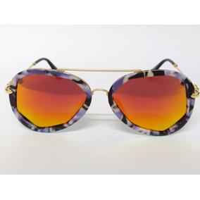 3018c70daf963 Oculos Aviador Espelhado Vermelho De Sol - Óculos no Mercado Livre ...